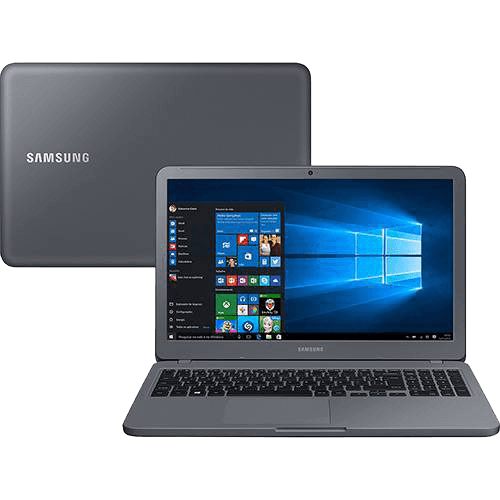 Notebook Expert X40 8ª Intel Core I5 8GB (GeForce MX110 com 2GB) 1TB LED HD 15,6'' W10 Cinza Titânio - Samsung