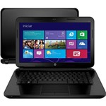 "Notebook HP 14-d028br com Intel Core I3 4GB 500GB LED 14"" Windows 8"