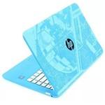 "Notebook Hp Stream Intel Celeron 4gb Ram 32gb Ssd Emmc Windows 10 Tela 14"" - Azul Star Wars"
