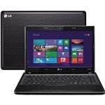 "Notebook LG S460 com Intel Pentium Dual Core 4GB 320GB LED 14"" Windows 8"