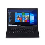 Notebook Multilaser Legacy Pc208, Intel Celeron N3350, HD 32gb, Memória 2gb, Tela 14.1'', Windows 10 - Azul