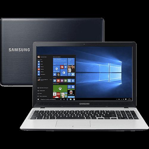 Notebook Samsung Expert X51 Intel Core 6 I7 8GB (GeForce 940M de 2GB) 1TB LED Full HD 15,6'' Windows 10 - Preto