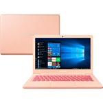 """Notebook Samsung Flash F30 Intel Celeron 4GB 64GB SSD Full HD Tela LED 13.3"""" Windows 10 - Coral"""