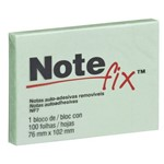 Notefix 76 X 102 Mm Verde com 100 Folhas 3M