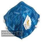 Nova Máscara Descartável 3M C/ Válvula de Exalação Ref. 9822 PFF2 Caixa C/50 Peças