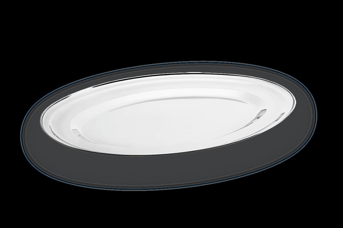 Null Travessa Oval Rasa - Jornata 35 X 24 X 2,1 Cm