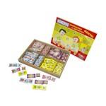 Números Operações de Aritmética Mental 160 Peças Colorido Carlu Brinquedos
