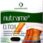 Nutrame D.tox Antioxidante Cosmobeauty 90 Cápsulas