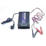 O Carregador de Bateria do Carro 12v, Carregador de Bateria Acidificada ao Chumbo 12v para Sla, Agm, Gel, Modalidade de Carga 7 Estagios