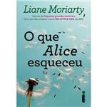O que Alice Esqueceu - 1ª Ed.