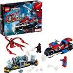 O Resgate de Motocicleta de Spider-man