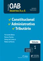 OAB 1ª Fase - V.1 - Constitucional, Administrativo e Tributário (2019)