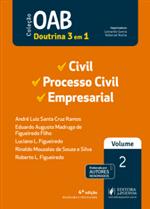 OAB 1ª Fase - V.2 - Civil, Processo Civil e Empresarial (2019)