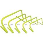 Obstáculos para Treinamento de Agilidade Acte Sports T75 Amarelo - 5 Unidades