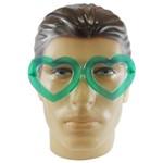 Óculos Coração Cristal C/10 Unds - Cores Sortidas
