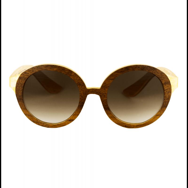 Óculos de Madeira MARROM