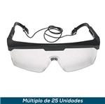 Óculos de Proteção 3M Pomp Vision 3000 Incolor