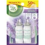 Odorizador Spray Bom Ar Click 12ml Descont50% 2uni Lavanda