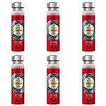 Old Spice Pegador Desodorante Aerosol Antitranspirante 150ml (kit C/06)