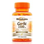 Óleo de Alho em Cápsulas Garlic Sundown 1500mg C/ 100