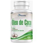 Óleo de Coco Extravirgem 1000mg - Frasco Econômico 120 Cápsulas - Plenavie