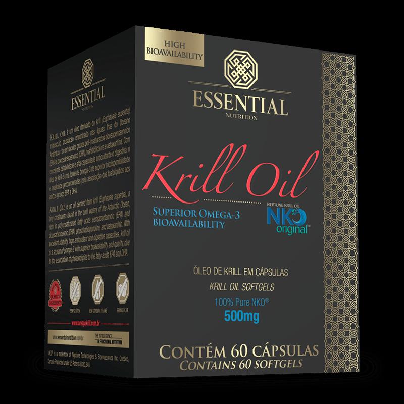 Óleo de Krill (60caps) Essential Nutrition