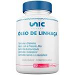 Óleo de Linhaça 500mg 60 Cáps Unicpharma