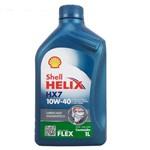 Óleo Lubrificante do Motor Shell Helix Hx7 10w40 Api Sn Semissintético 1l