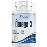 Omega 3 1000mg Dha / Epa - Frasco Econômico 120 Cápsulas - Plenavie