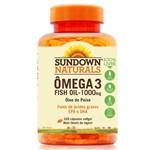 Ômega 3 Fish Oil 1000mg - Sundown Vitaminas - 320 Cápsulas