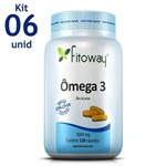 Omega 3 Fitoway 1.000mg 6 Unid. 120 Caps
