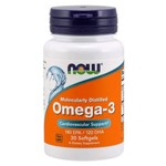 Omega-3 Now Foods 30 Cápsulas Softgels