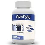 Ômega 3 Óleo de Peixe 1000Mg Apisnutri 60 Cápsulas