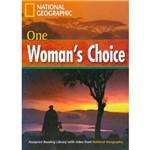 One Woman´S Choice - Footprint Reading Library - Intermediate B1 1600 Headwords - American