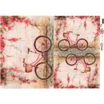 OPApel Decoupage Cód. 2521 Bicicleta