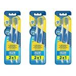 Oral B Pro Saúde Antibacteriano Escova Dental 40 C/2 (kit C/03)