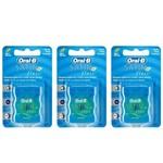 Oral B Satin Floss Fio Dental 25m (kit C/03)