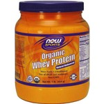 Organic Whey Protein - 454g - Now Foods