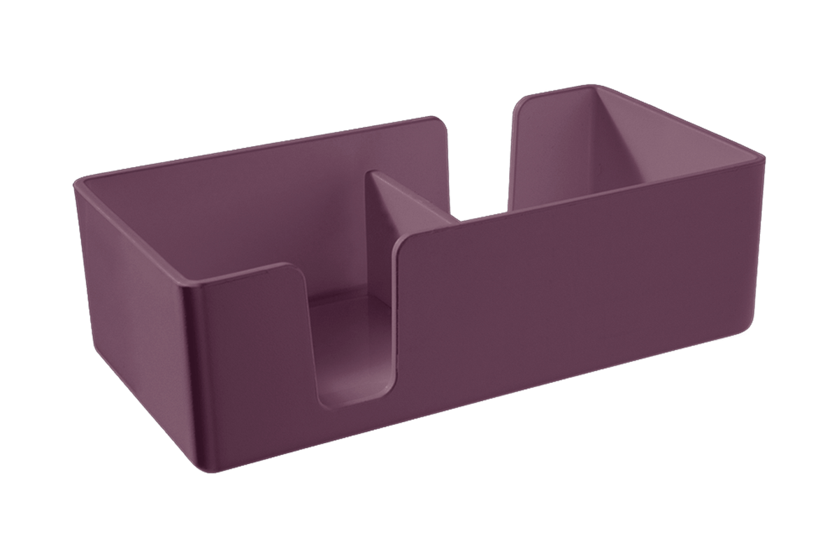 Organizador Casual Mini 12,3 X 6 X 3,8 Cm Roxo Púrpura Coza