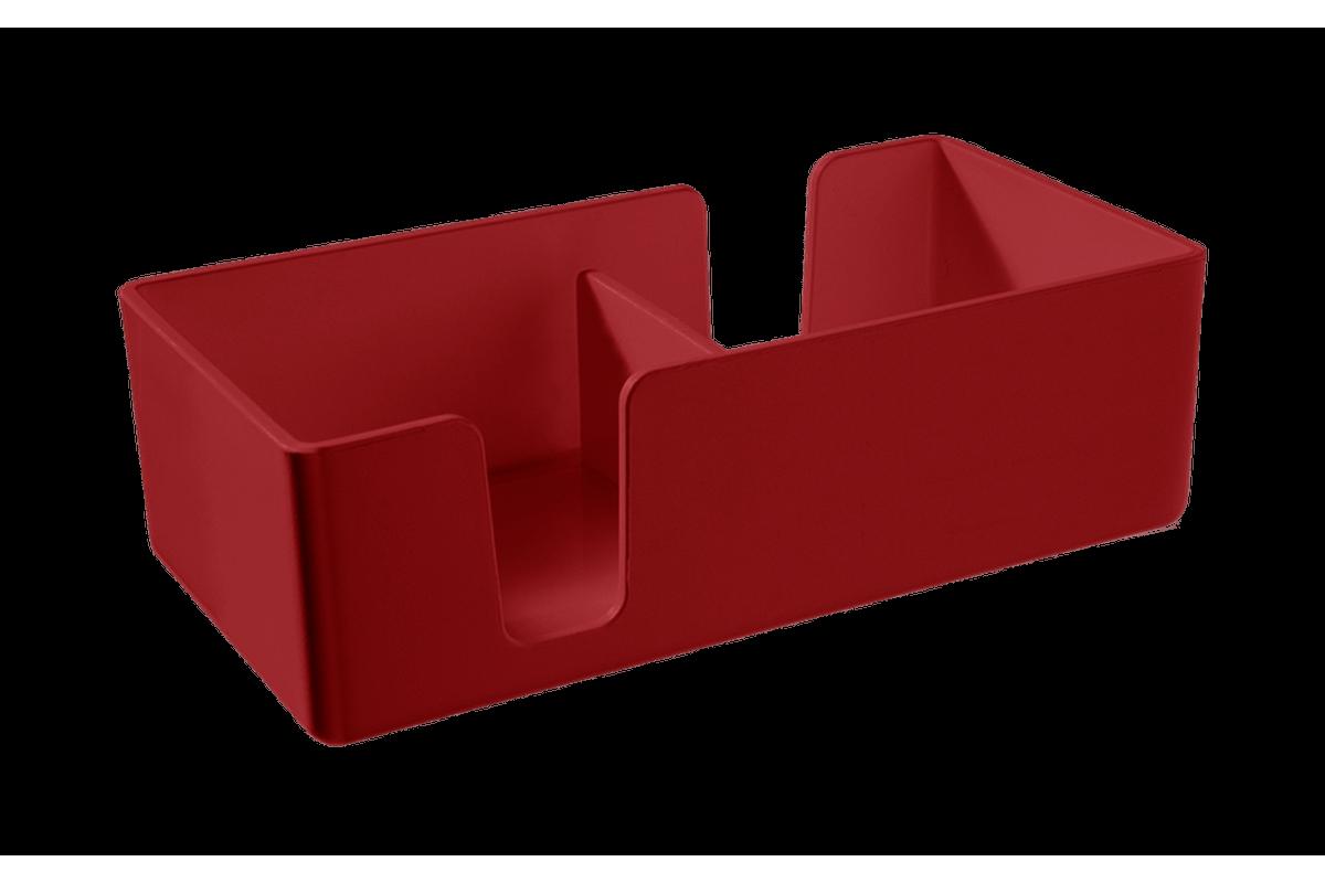 Organizador Casual Mini 12,3 X 6 X 3,8 Cm Vermelho Bold Coza