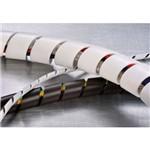 "Organizador de Cabos Hellermanntyton Spiral Tube 1/2"" Branco com 2 Metros"