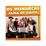 Os Monarcas Alma de Gaita - Cd Música Regional