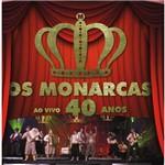 Os Monarcas ao Vivo 40 Anos - Cd Música Regional