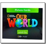 Our World Starter Picture Cards - American