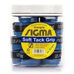 Overgrip Sigma Soft Tack Azul Pote com 18 Unidades