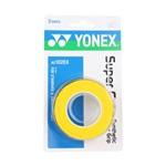 Overgrip Yonex Super Grap com 3 Unidades Amarelo
