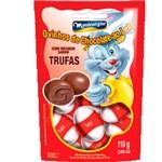 Ovinhos de Chocolate Recheio Trufas 85g - Montevérgine
