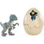 Ovo Dinossauro - Jurassic World - Velociraptor Blue - Mattel