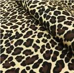 Oxford Estampado com Forro Cru Leopardo Médio 17