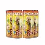 Pack 4 Cervejas Tupiniquim Hop Bomb Ipa Lata 350ml